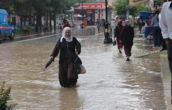 Kızıltepe'de Sel Baskınları
