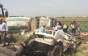 Kızıltepe'de feci kaza