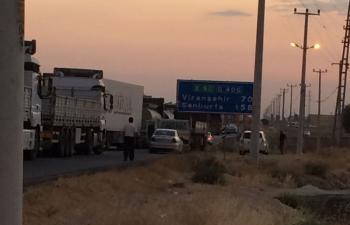 Kızıltepe'de kaza