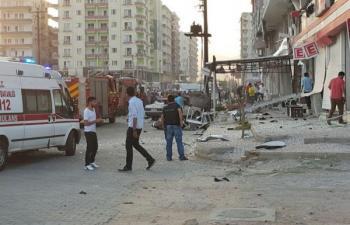 Kızıltepe'de şiddetli patlama