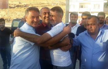Mardin Cezaevinde tahliye heyecanı