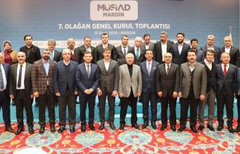 Mardin MÜSİAD'ta Mehmet İleri dönemi başladı