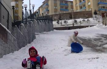 Mardin'de Dondurucu Soğuklar