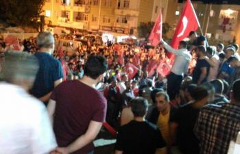 Mardin'de de Halk Sokağa Döküldü