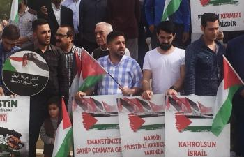 Mardin'den GAZZE'ye destek açıklaması