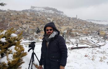 Mardin'den Kar Manzaraları