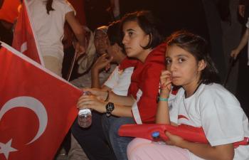Mardinliler 'Milletin Zaferi'ni kutladı
