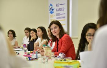 NASA'dan Mardinli kızlara eğitim