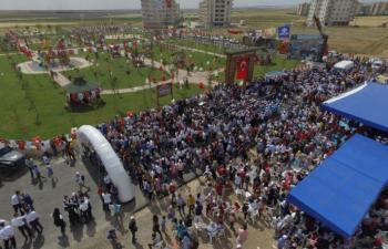 Nusaybin – Kocaeli Kardeşlik parkı açıldı