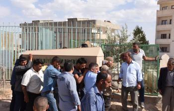 Nusaybin'de Çevik ve Barak toprağa verildi