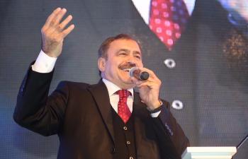 Orman ve Su Bakanı Veysel Eroğlu Mardin'de