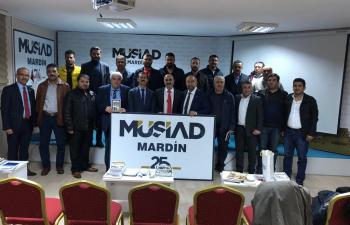 Roterdam MÜSİAD Şubesi, Mardin'de incelemelerde bulundu