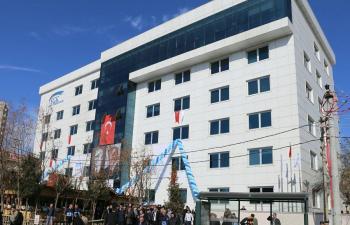 SGK il binasının açılışını Erdoğan yaptı