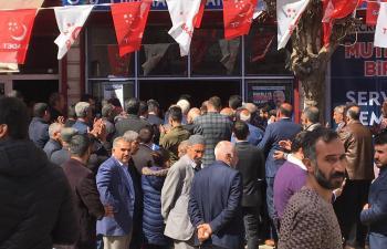 Saadet, Ömerli'de Gövde Gösterisi Yaptı