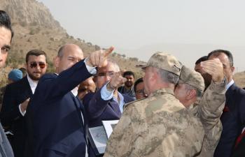 Süleyman Soylu Mardin'de Operasyon Bölgesinde