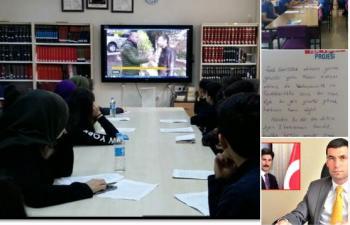 Tokatlı Öğrenciler Şehit Kaymakam Safitürk'ü anıyor