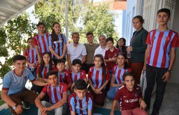 Trabzonspor'dan Mardin'e kardeşlik çıkarması