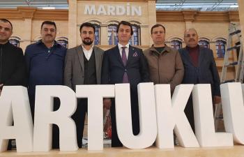 Trawel Turkey'de Mardin'e ilgi yoğun oldu