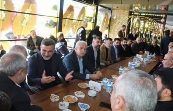 Artukbey, Kızıltepe'deki 3'üncü şubesi dualarla açıldı
