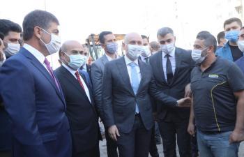 Bakan Karaismailoğlu Mardin'de