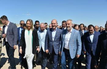 İçiişleri Bakanı Süleyman Soylu Mardin'de