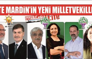 İşte Mardin'in Yeni Milletvekilleri
