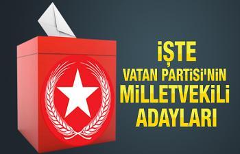 İşte Vatan Partisi Mardin Milletvekili Adayları