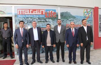 Midyat Belediyesi'nden hizmet birimleri için dev proje