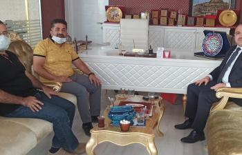 Vali Erkaya Yırık, Mardin Life Yayın Grubunu Ziyaret Etti