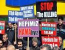 Suriye olayları Mardin'de telin edildi