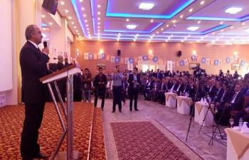 Mehmet Vejdi Kahraman'ın konuşması