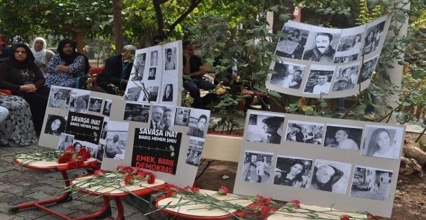 Ankara'daki katliam için Derik'te taziye