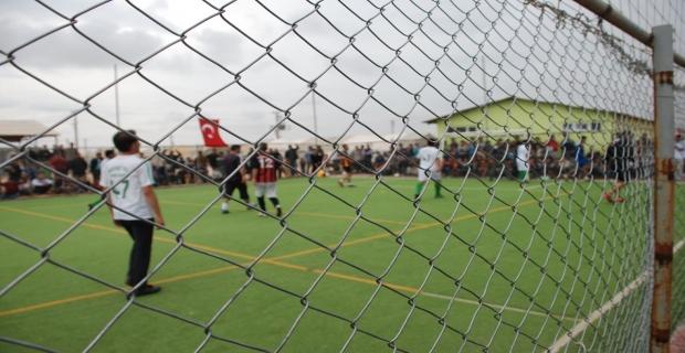 Çadırkent'te Futbol Turnuvası Düzenlendi