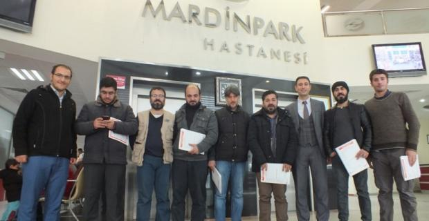 Özel Mardin Park Hastanesi'nden gazetecilere Check-up hizmeti