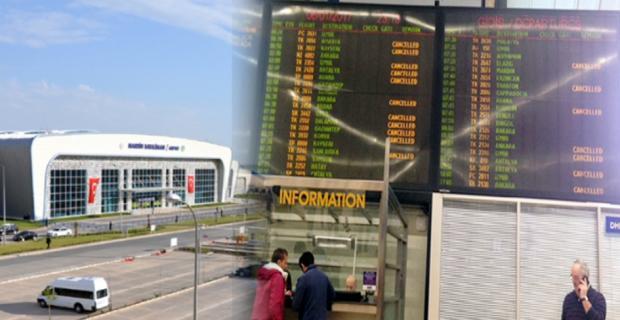 Mardin-İstanbul arası Uçak seferleri iptal
