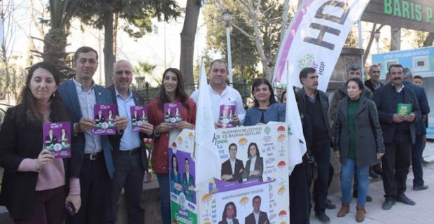 HDP Akarsu, Duruca ve Girmeli'de seçim bürolarını açtı