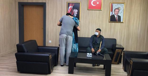 Şırnak'ta Teslim oldu Mardin'de Ailesine Kavuştu