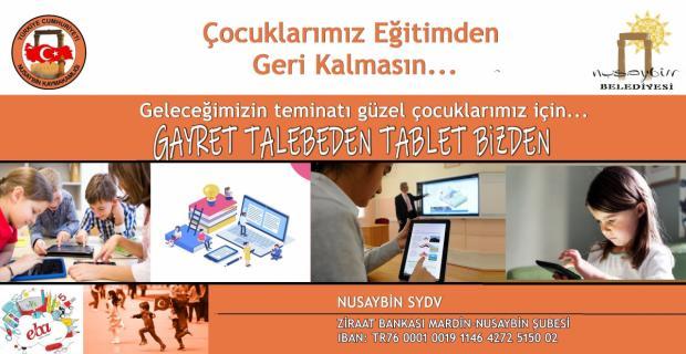 Dar gelirli öğrencilere destek için Anlamlı Tablet Kampanyası