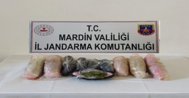 Savur'da uyuşturucu operasyonu