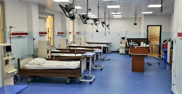 Midyat Devlet Hastanesi'nde Diyaliz Ünitesi yeninden hizmete girdi