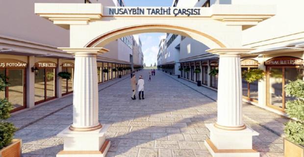 Nusaybin Çarşısı Tarihi Görünüme kavuşuyor