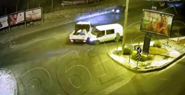 Mardin, Diyarbakır ve Batman'daki trafik kazaları kamerada