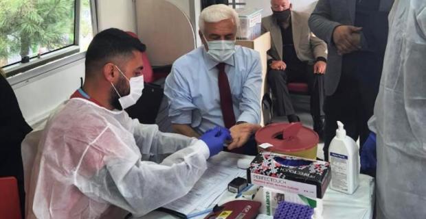 MHP İl Başkanı Bozkuş, Kan Bağışına Davet Etti