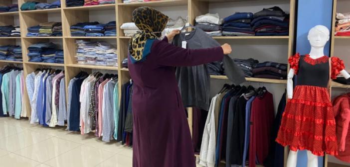 Büyükşehirden İhtiyaç Sahiplerine Giysi Yardımı