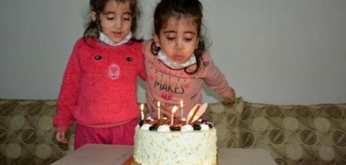 Engelli Emine'ye doğum günü sürprizi