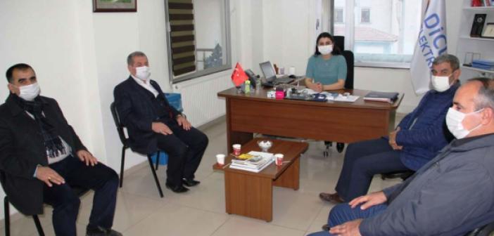 HÜDA PAR'dan DEDAŞ Midyat İşletme yöneticiliğine ziyaret