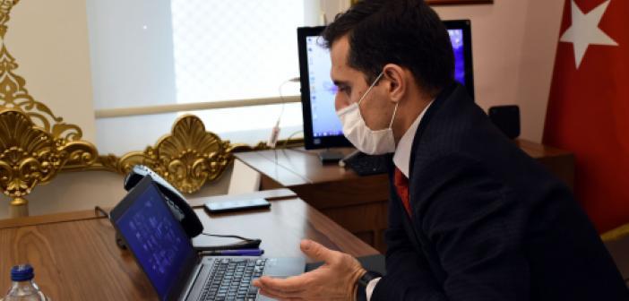Kaymakam Temizkan, İlçe Milli Eğitim Müdürlüğü Değerlendirme Toplantısına Katıldı