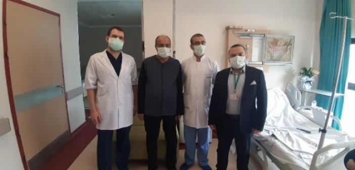 Laparoskopik yöntemle kalın bağırsak ameliyatı gerçekleştirildi