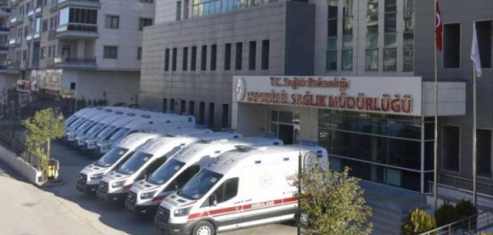 Mardin'de 10 yeni ambulans hizmete girdi