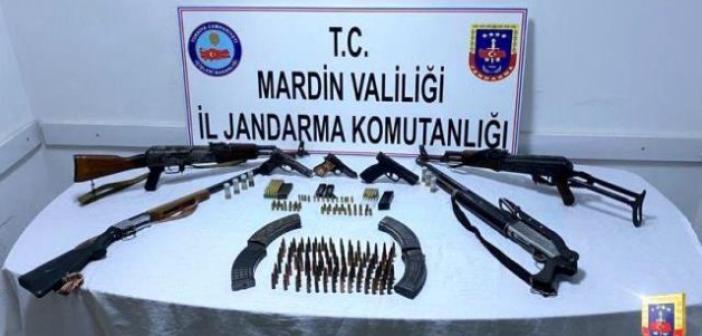 Mardin'de mini cephanelik ele geçirildi